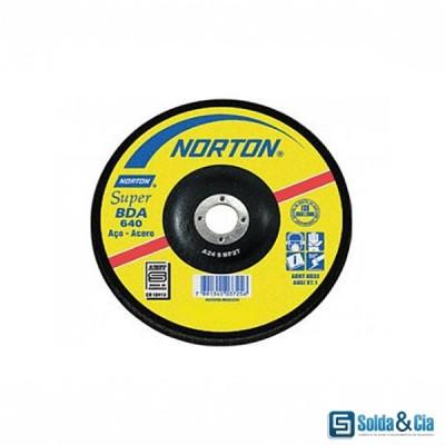DISCO DE DESBASTE 4 1/2 BDA 640 - NORTON